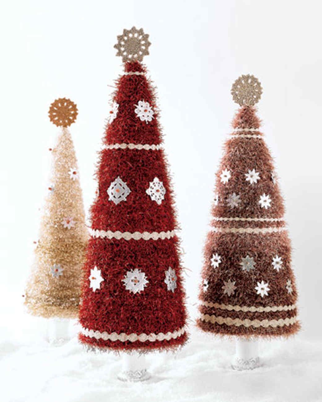 Glitter Tinsel Tree