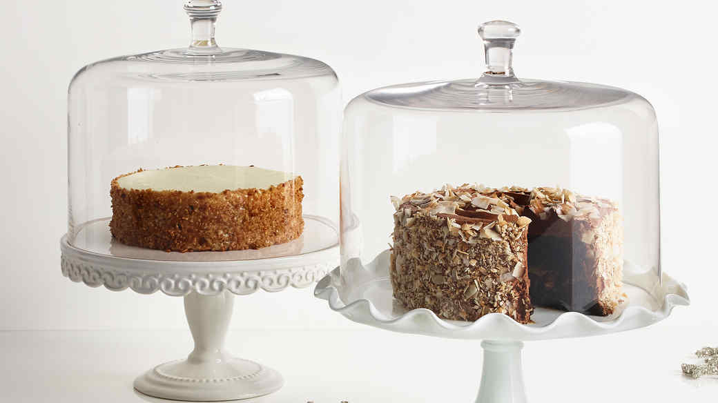 Macy's cake stands domes