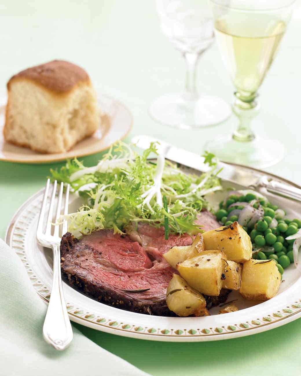 easy holiday menus | martha stewart