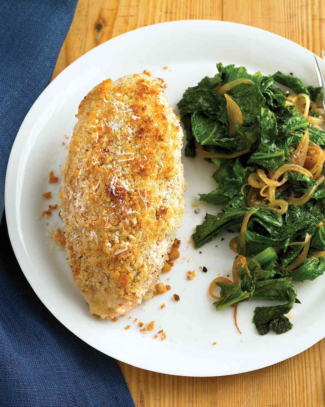 Pecorino-Crusted Chicken