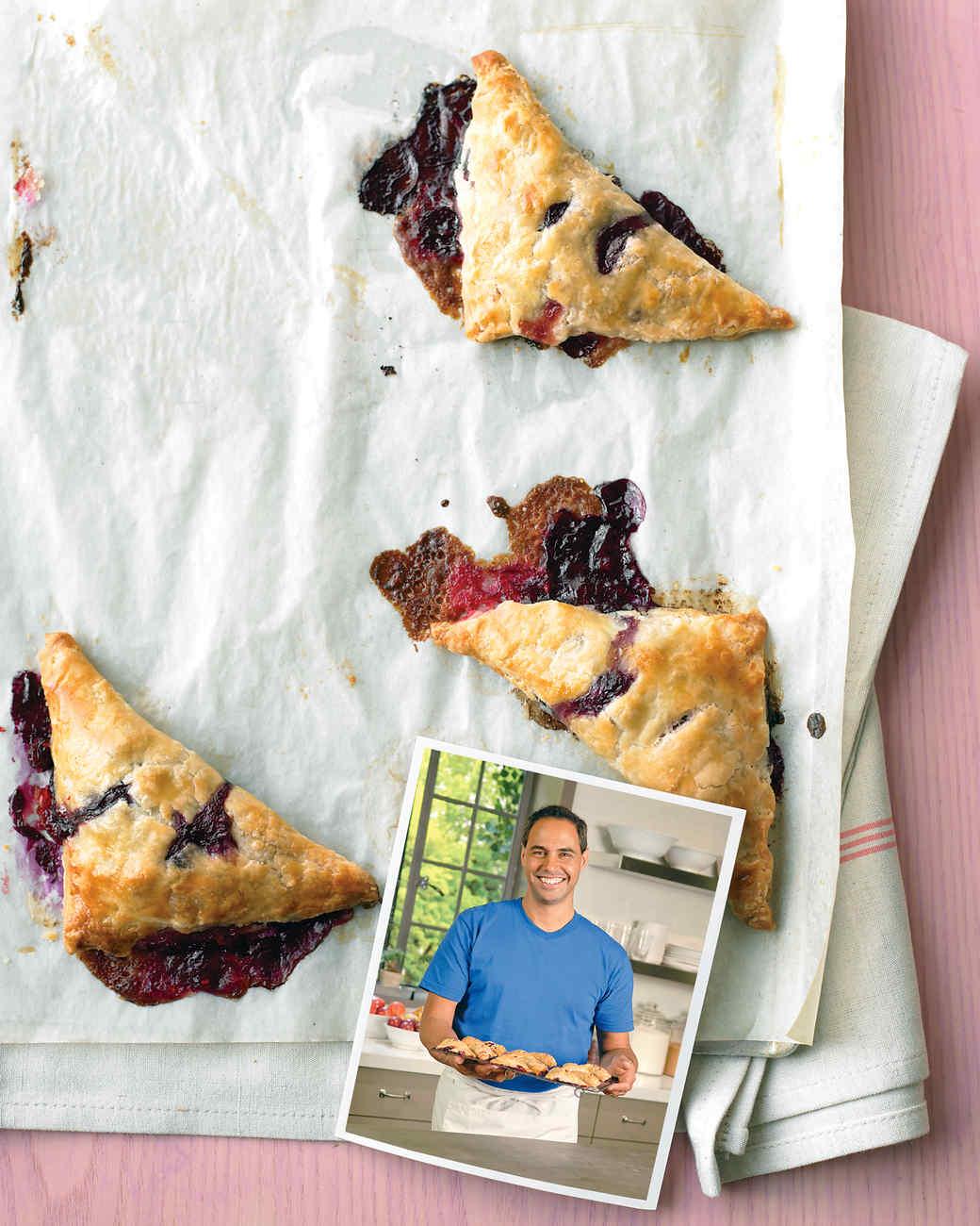 John's Mixed-Berry Turnovers