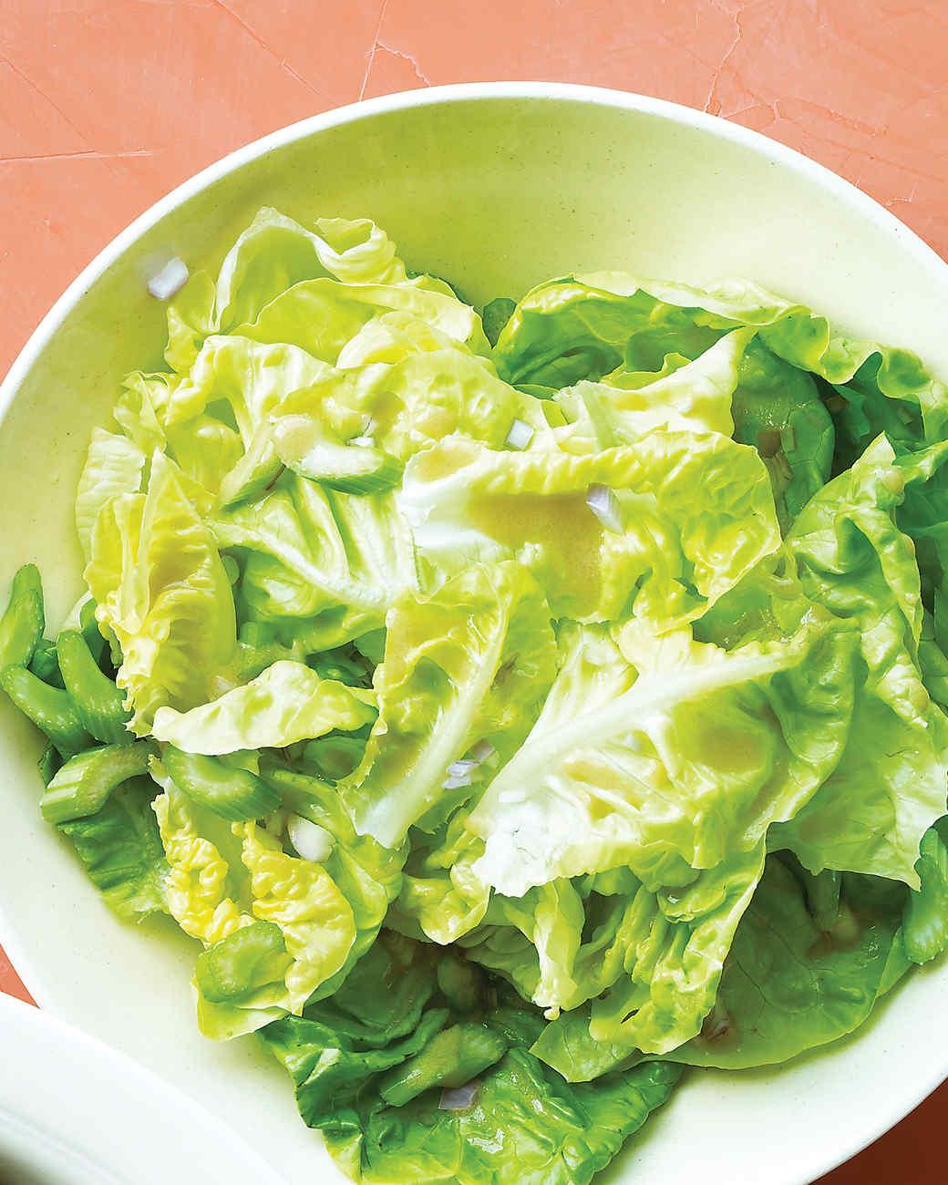 Boston Lettuce Salad With Celery Recipe Martha Stewart