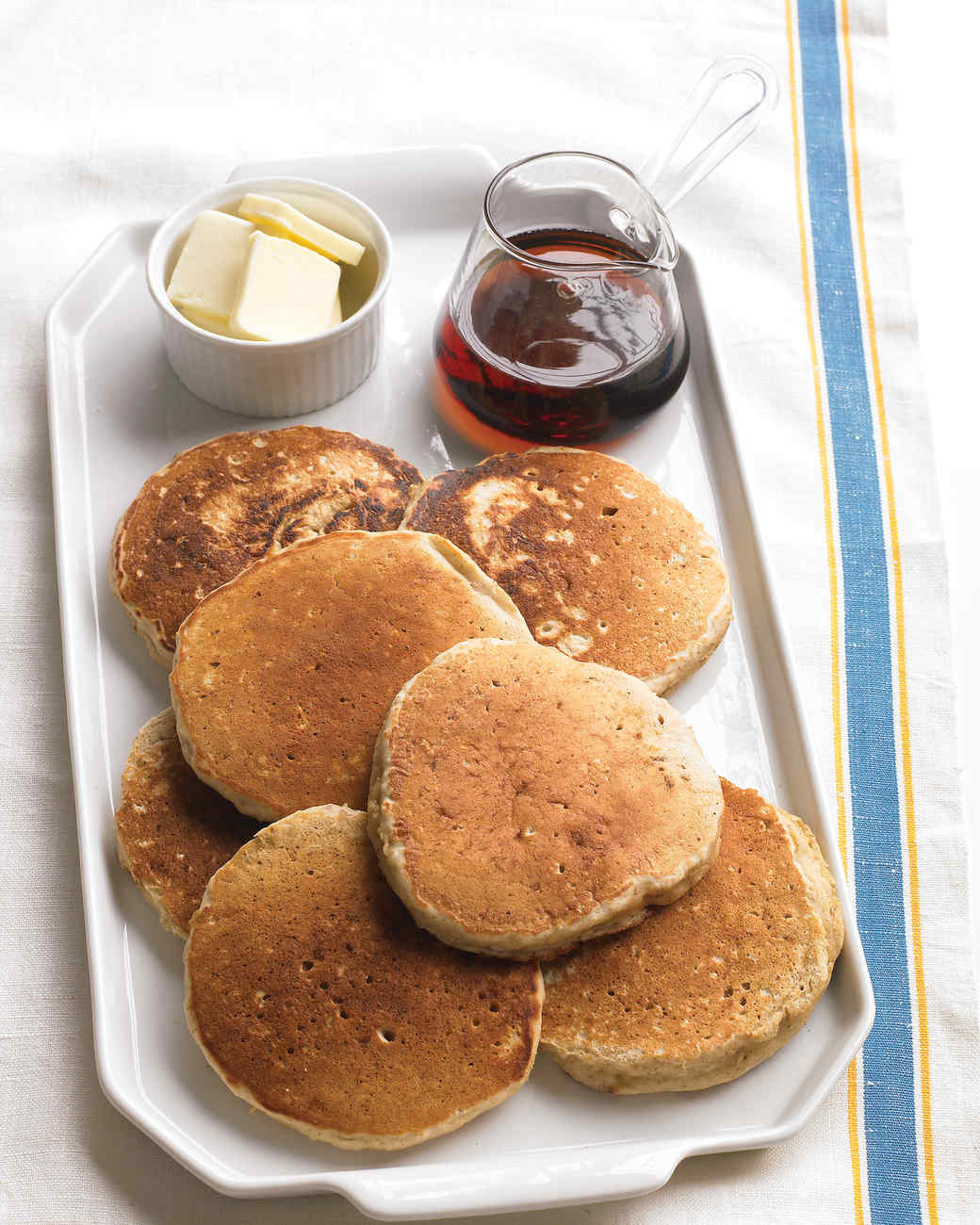 Oatmeal Pancakes with Cinnamon