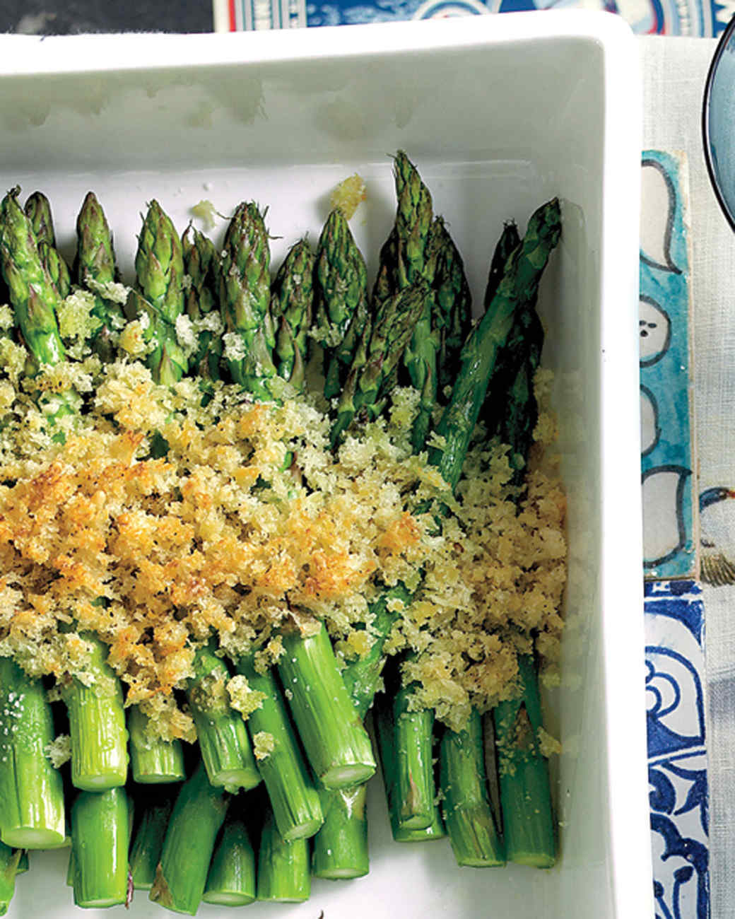 Asparagus with Breadcrumbs and Parmesan