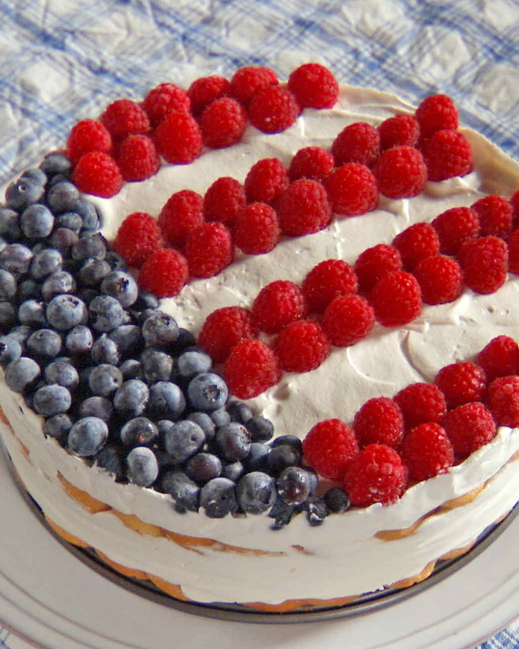Independence Icebox Cake Recipe & Video | Martha Stewart