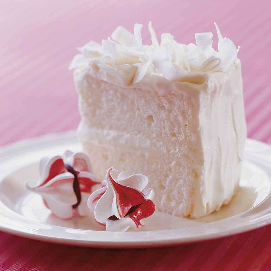 Snowy Coconut Cake