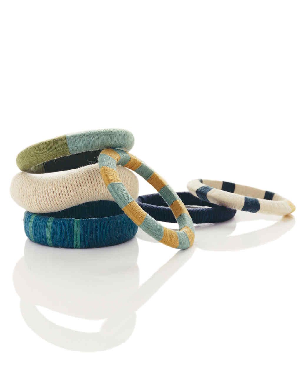 Textured String Bracelets
