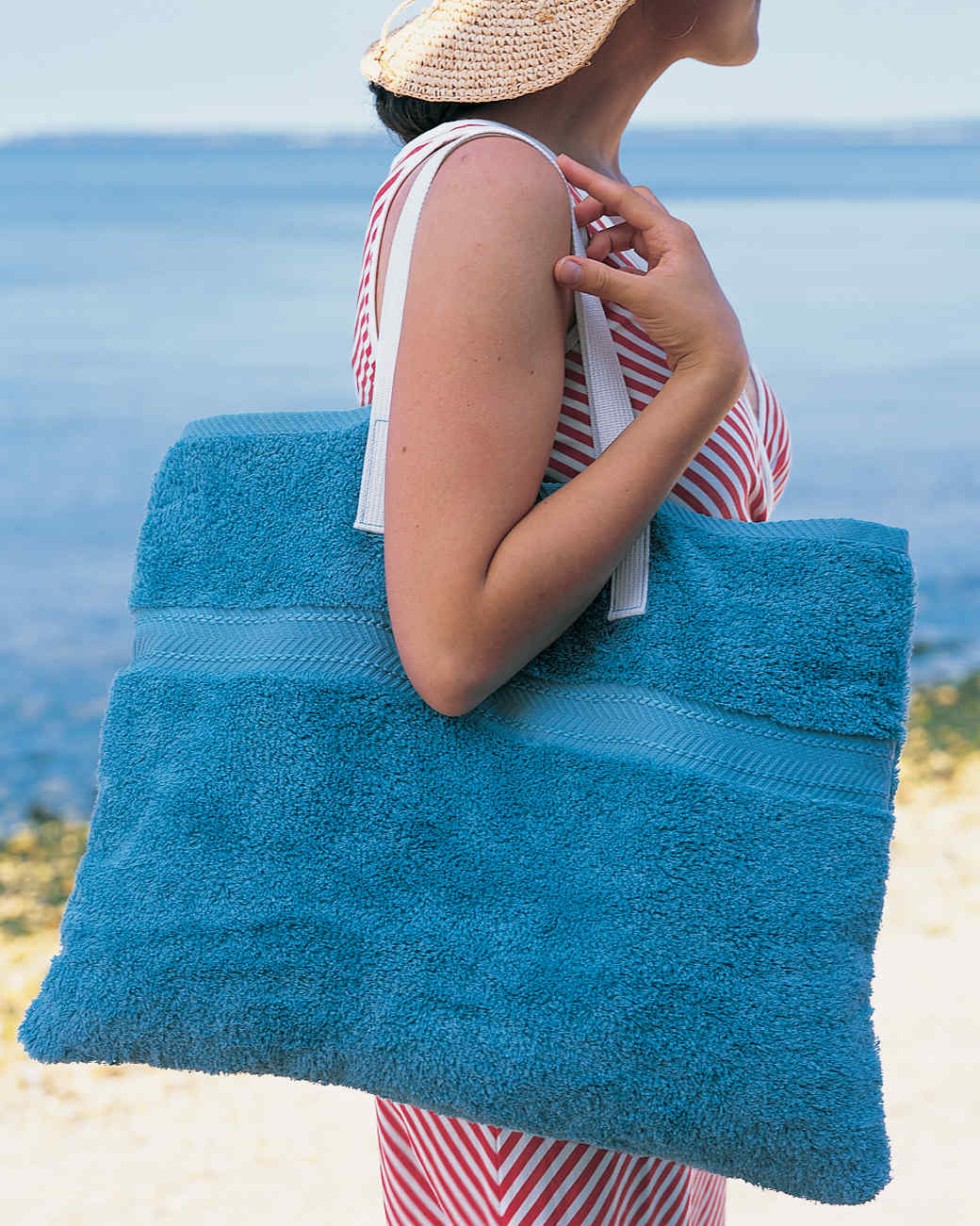 Beach-Towel Tote Bag