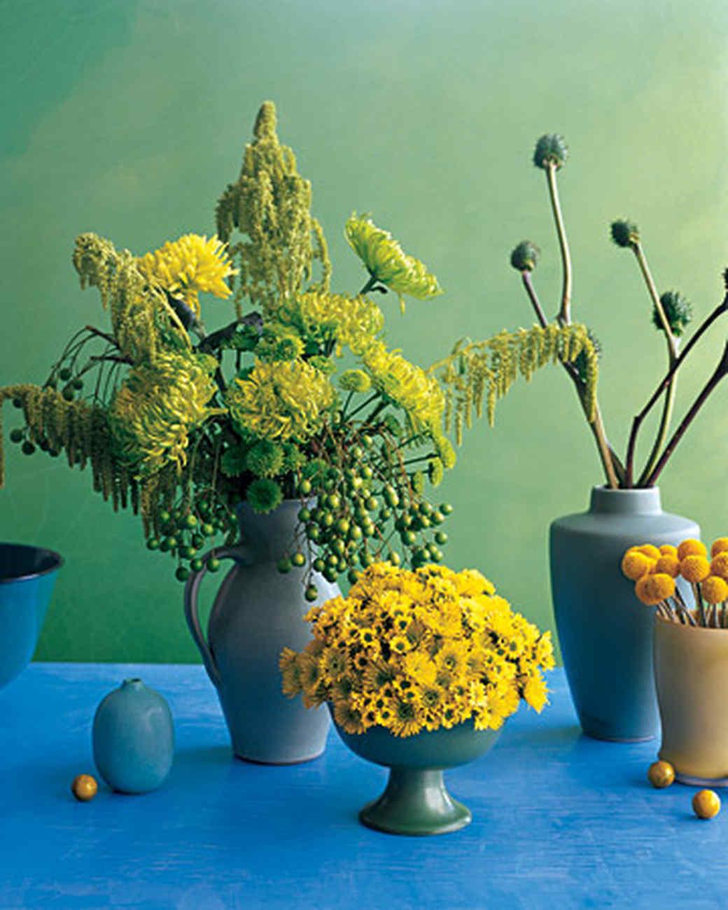 Chrysanthemum Dome Centerpiece