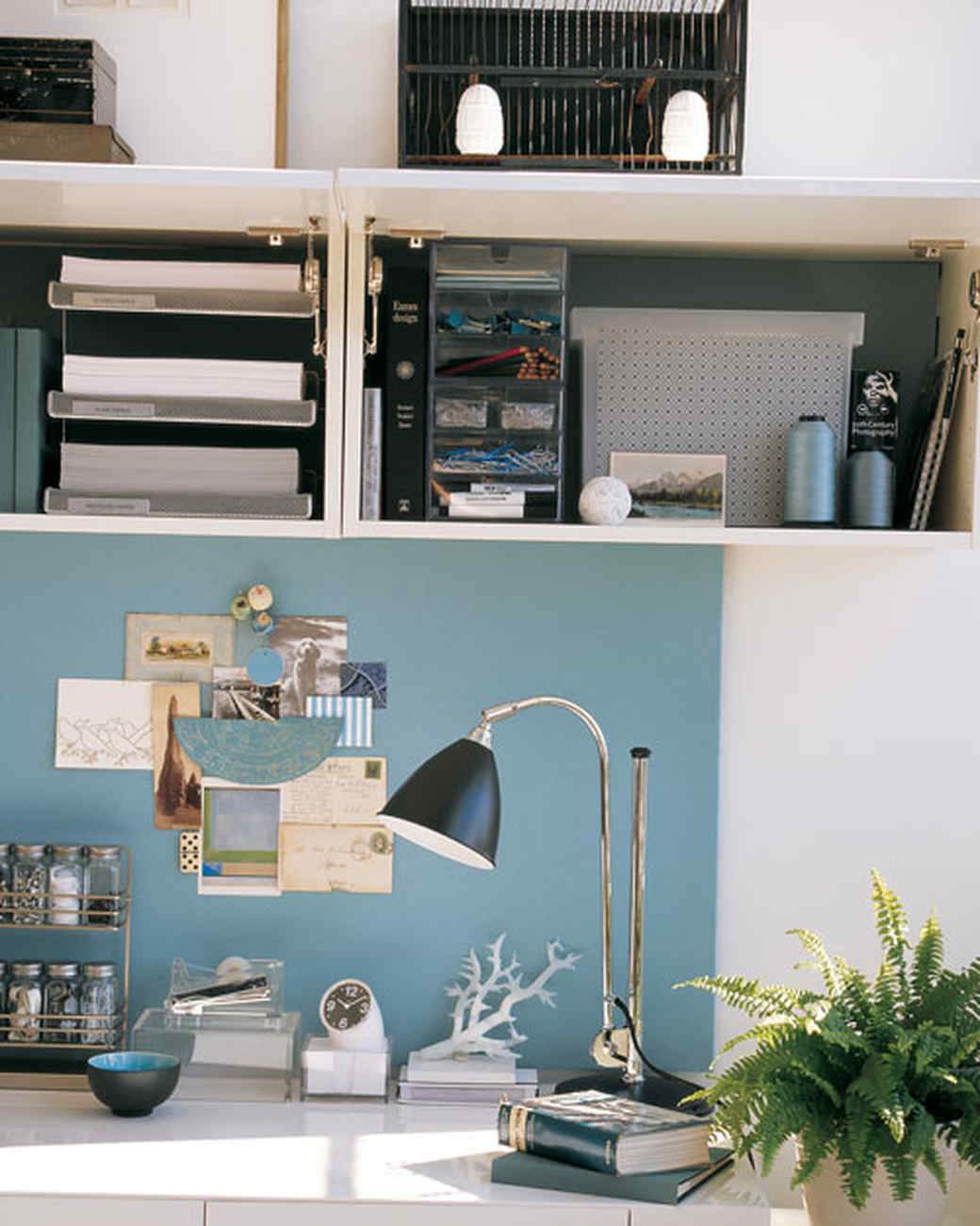 Clever Office: Shared Space | Martha Stewart