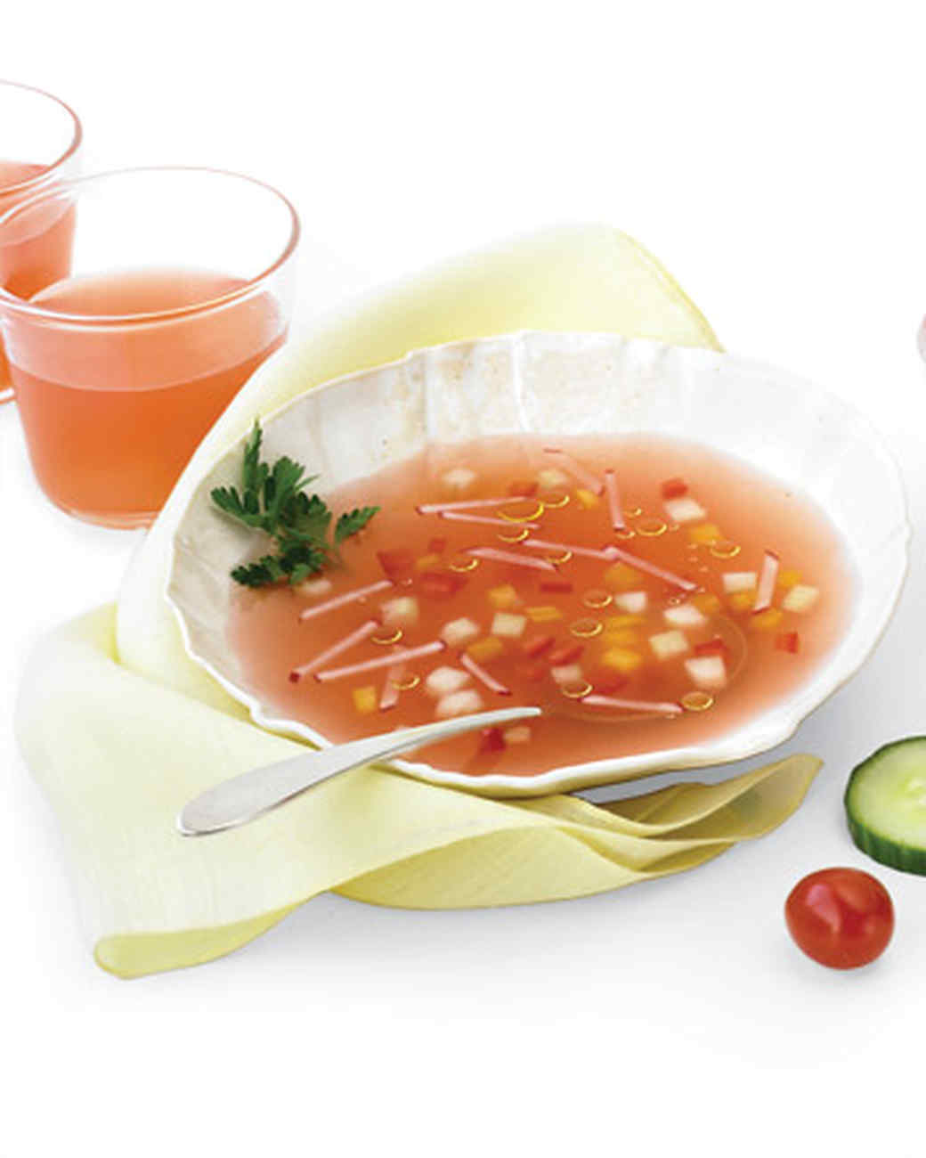 Light Gazpacho Broth