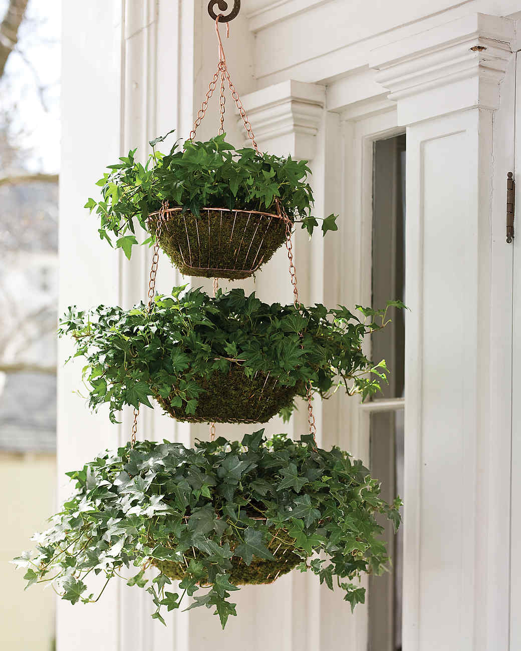 Garden Top To Bottom. Use Hanging Planters ...