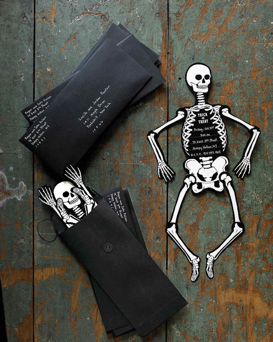 Skeleton Invitations