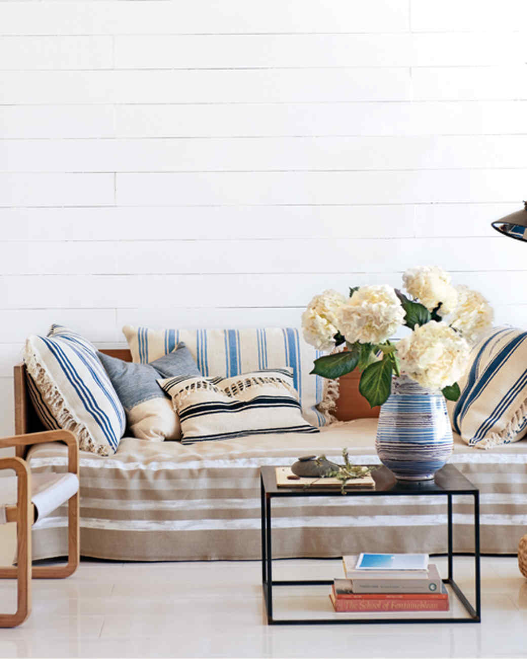 Striped Daybed Cover | Martha Stewart