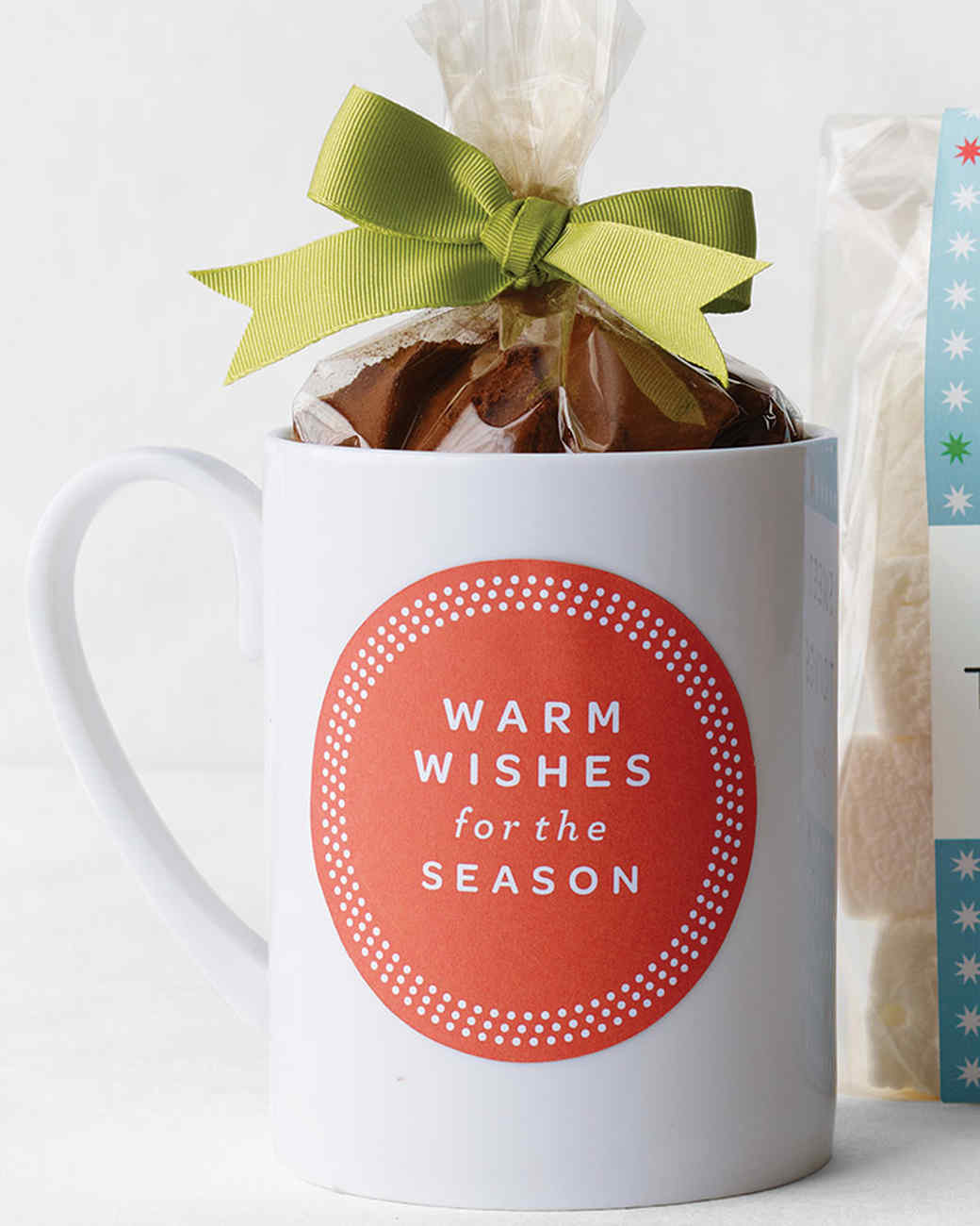 Filled coffee christmas mug gift ideas