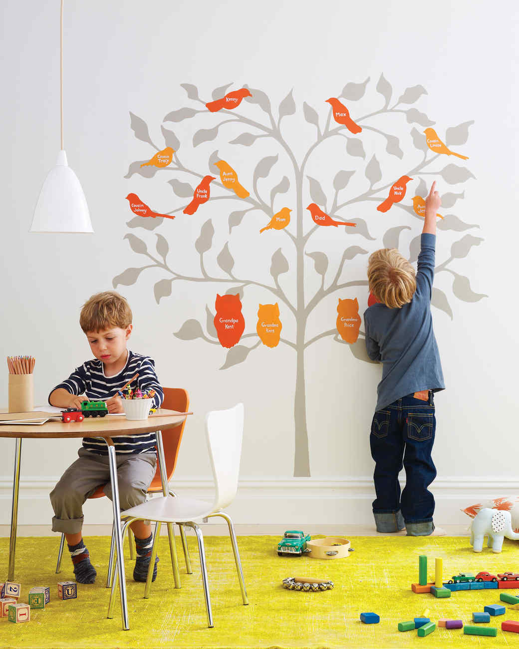 birds of a feather family tree - Family Tree Design Ideas