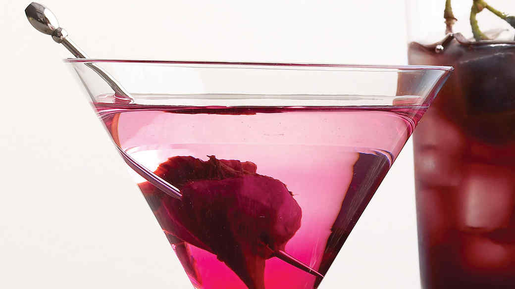 Bleeding Heart Martini Recipe