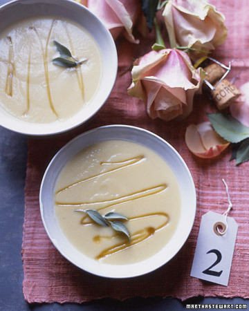 Soup For Two: Celery Root Puree