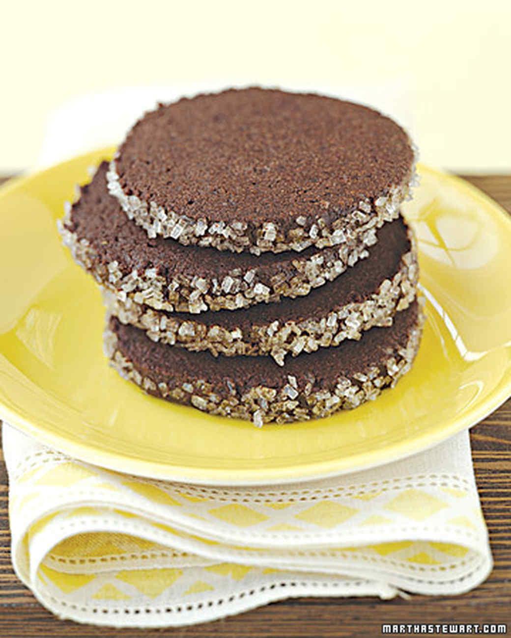 Chocolate-Black Pepper Cookies