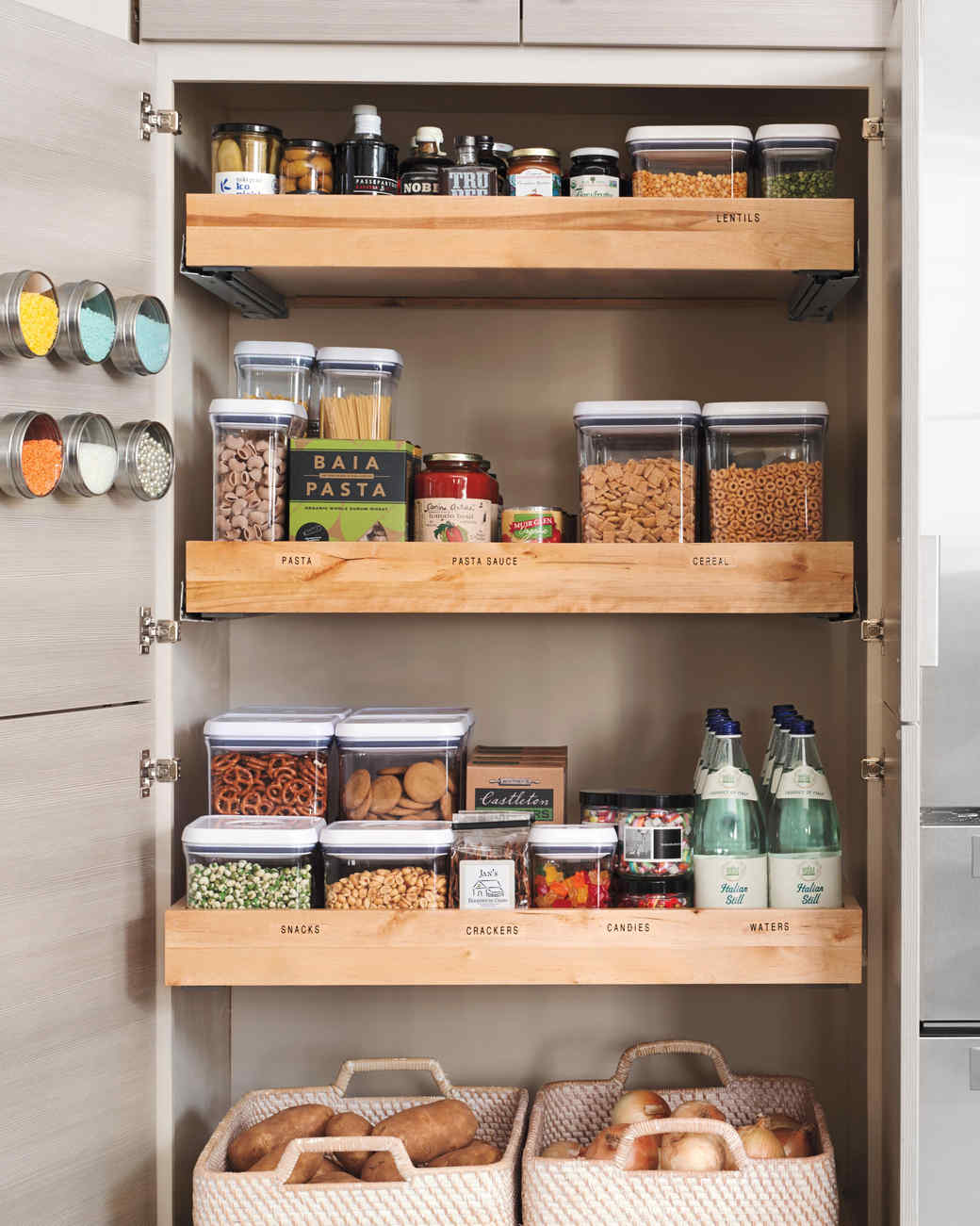 Small kitchen storage ideas for a more efficient space martha stewart - Kitchen storage for small spaces ideas ...