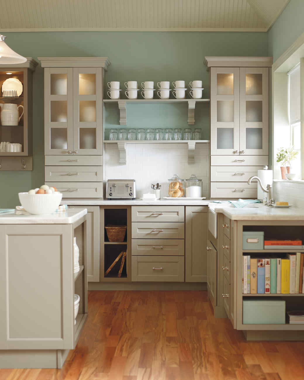 Green Kitchen Colour Ideas Home Trends: How To Pick Kitchen Paint Colors