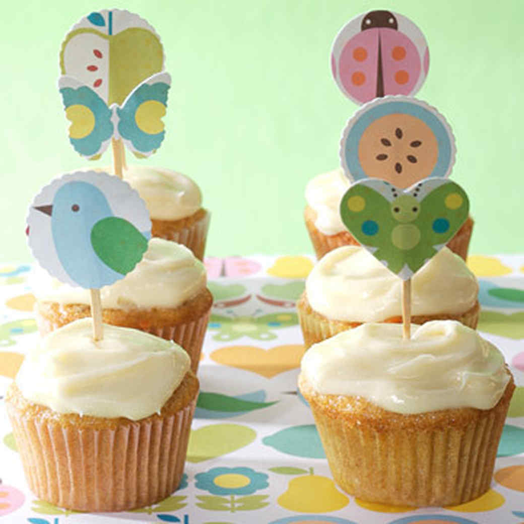 Simple recipes carrot cake cupcakes