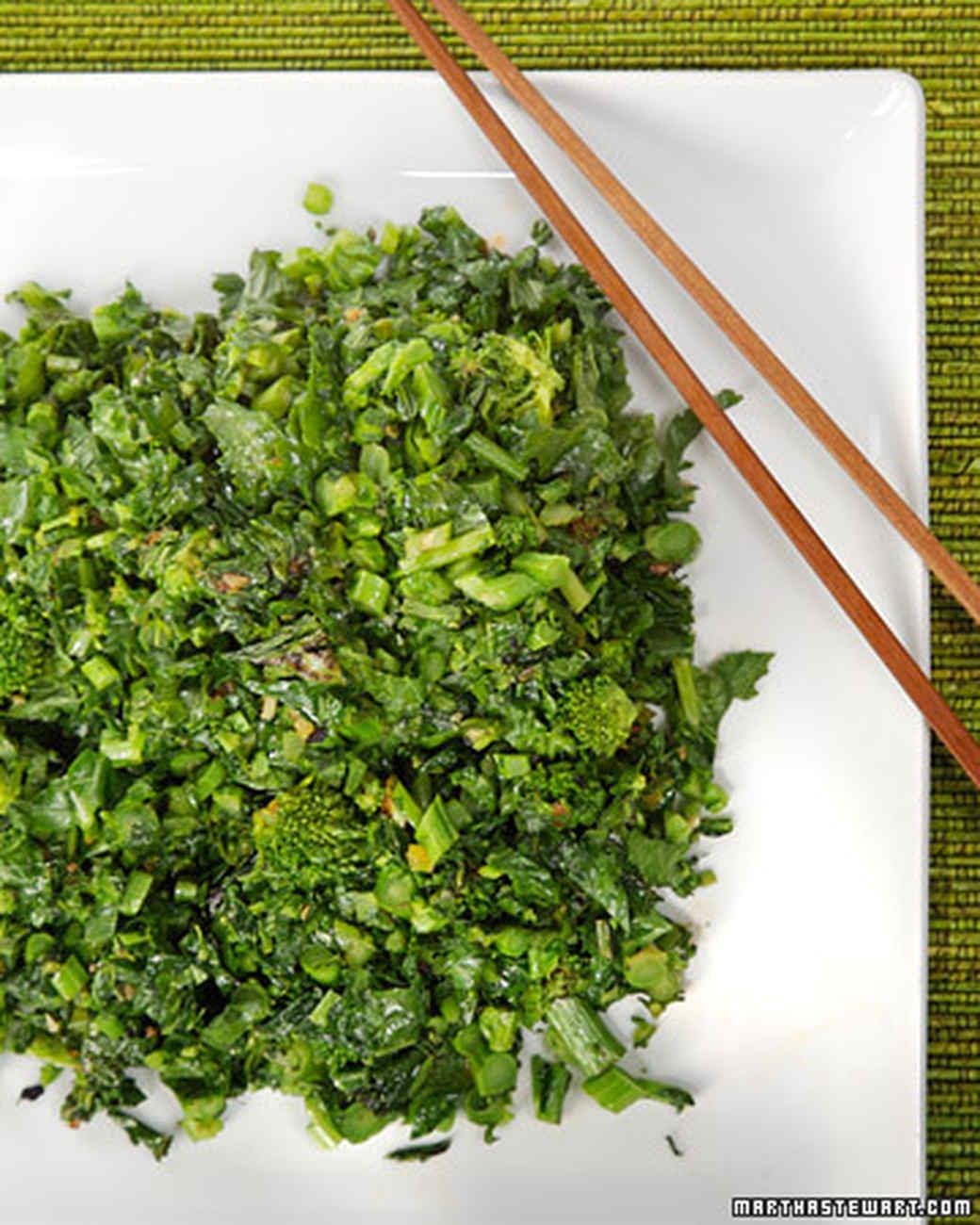 Stir-Fried Broccoli Rabe