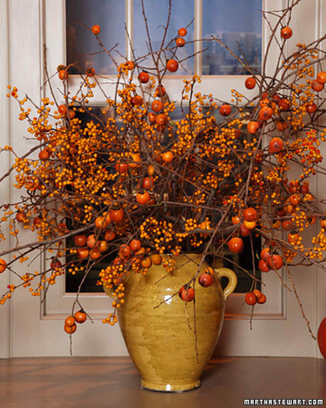 Fall Branch Arrangements Video Martha Stewart