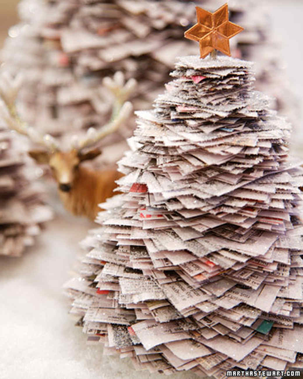 Shimmering Stacked Trees & Video | Martha Stewart