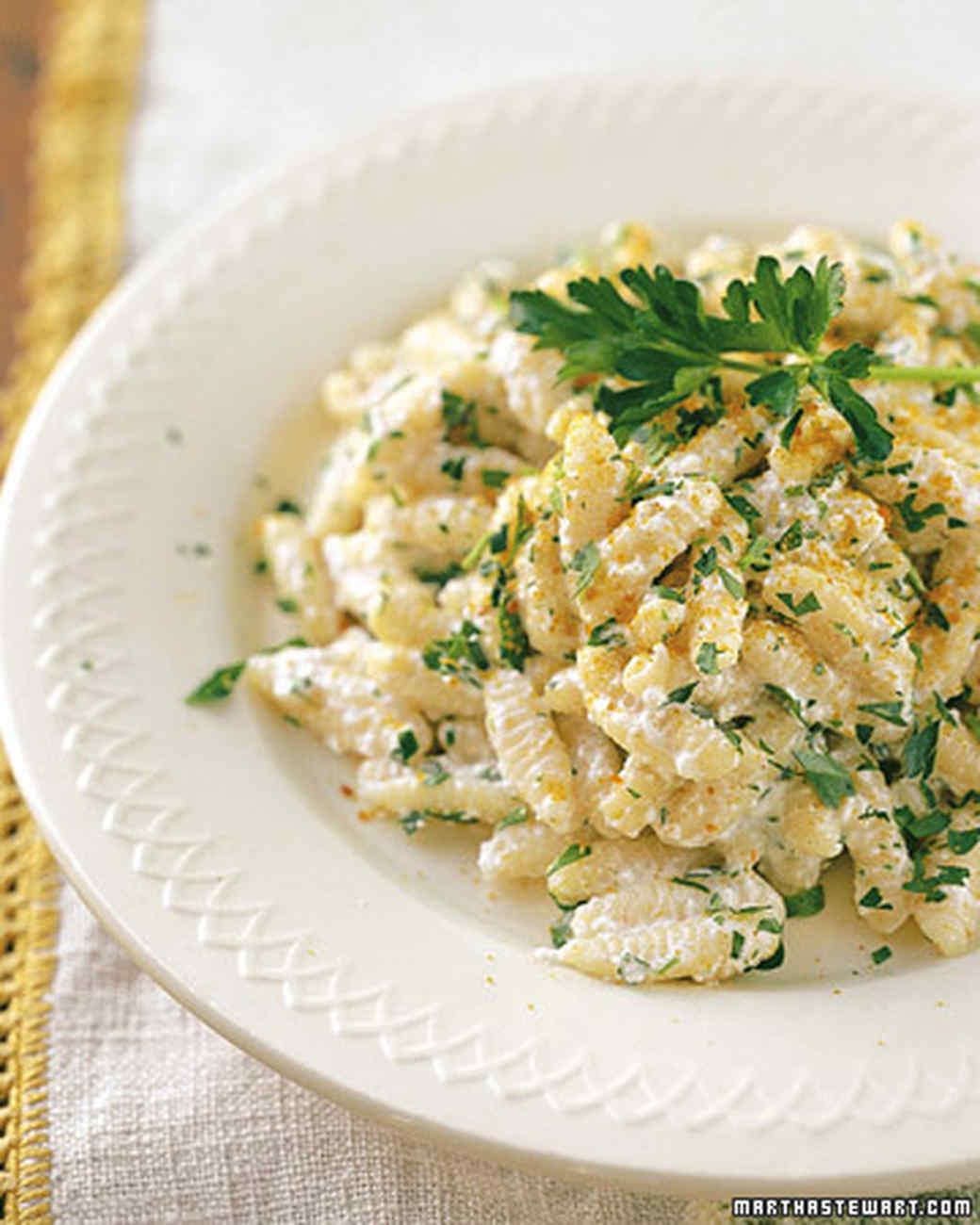 Ricotta and pasta recipe
