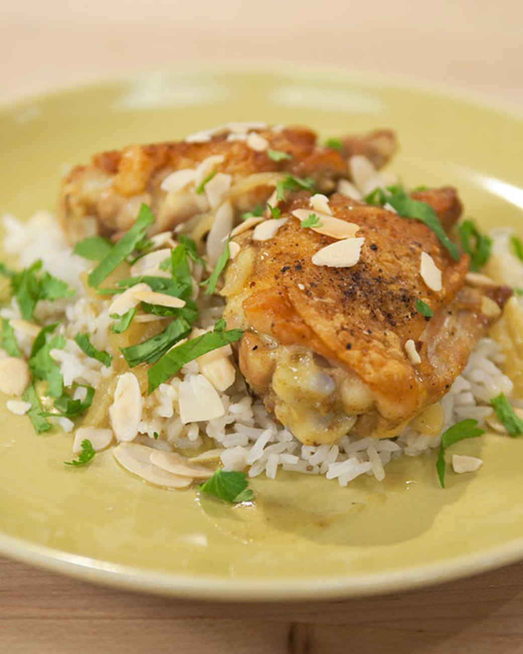 Almond Curry Chicken
