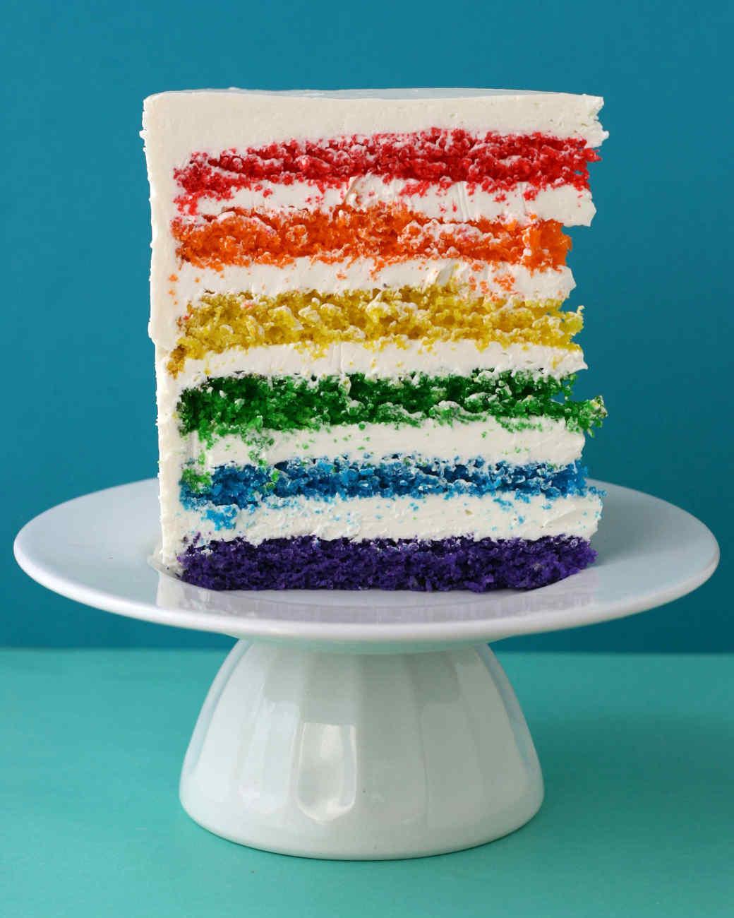 Rainbow Cake Recipe Martha Stewart