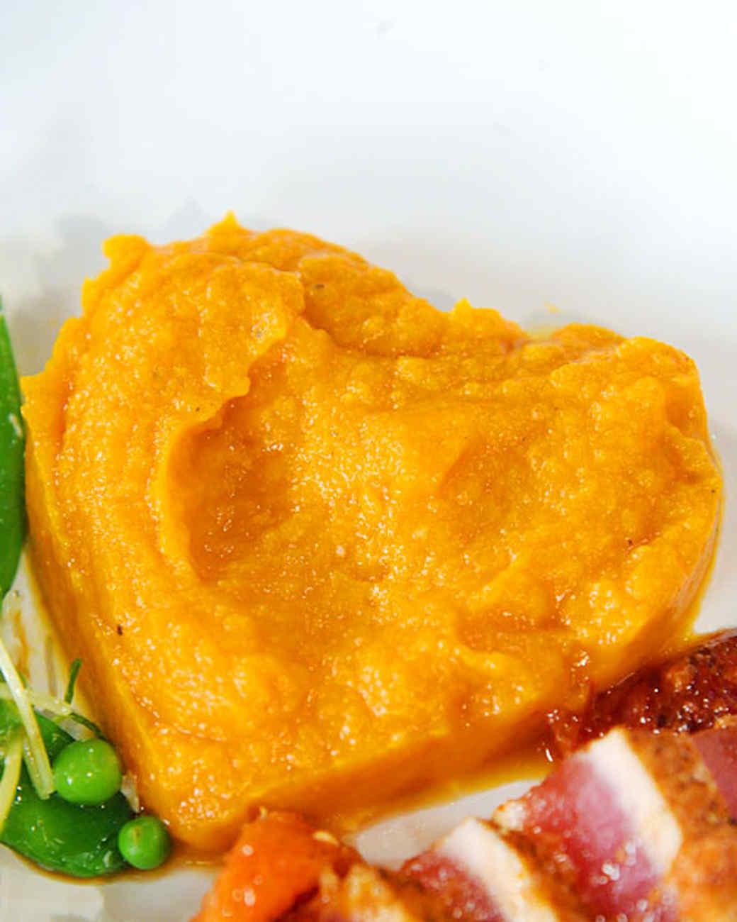 Silky Miso Sweet Potatoes