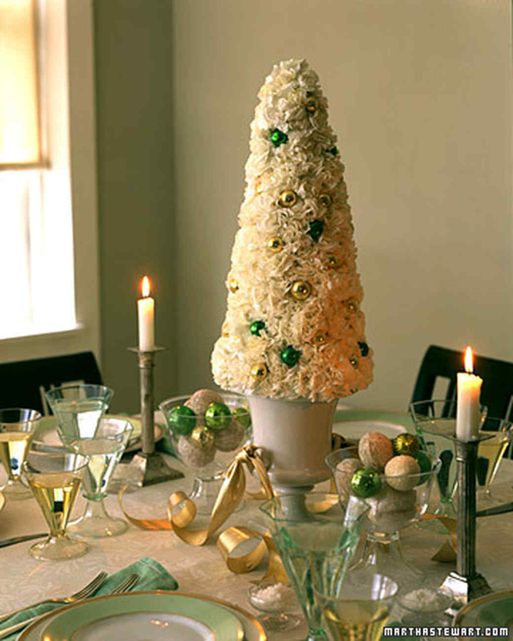 Christmas Table Decorations Part - 49: Yuletide Topiary