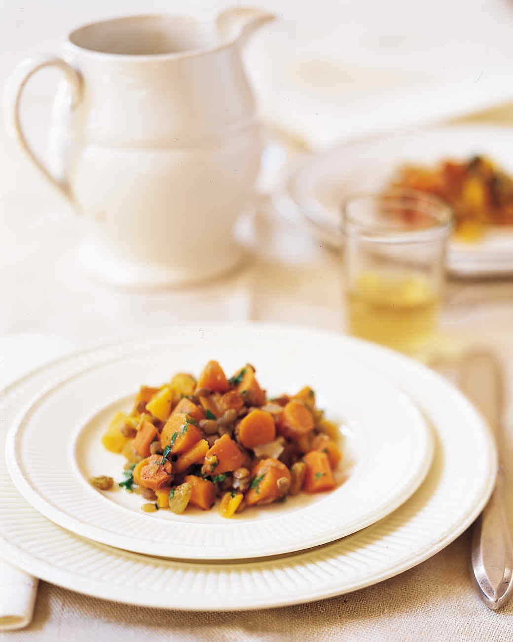 Warm Carrot and Lentil Salad