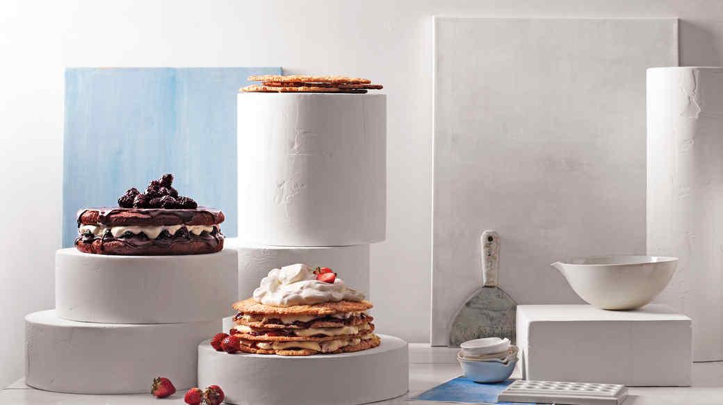 Strawberry-Cream-Pie Cake
