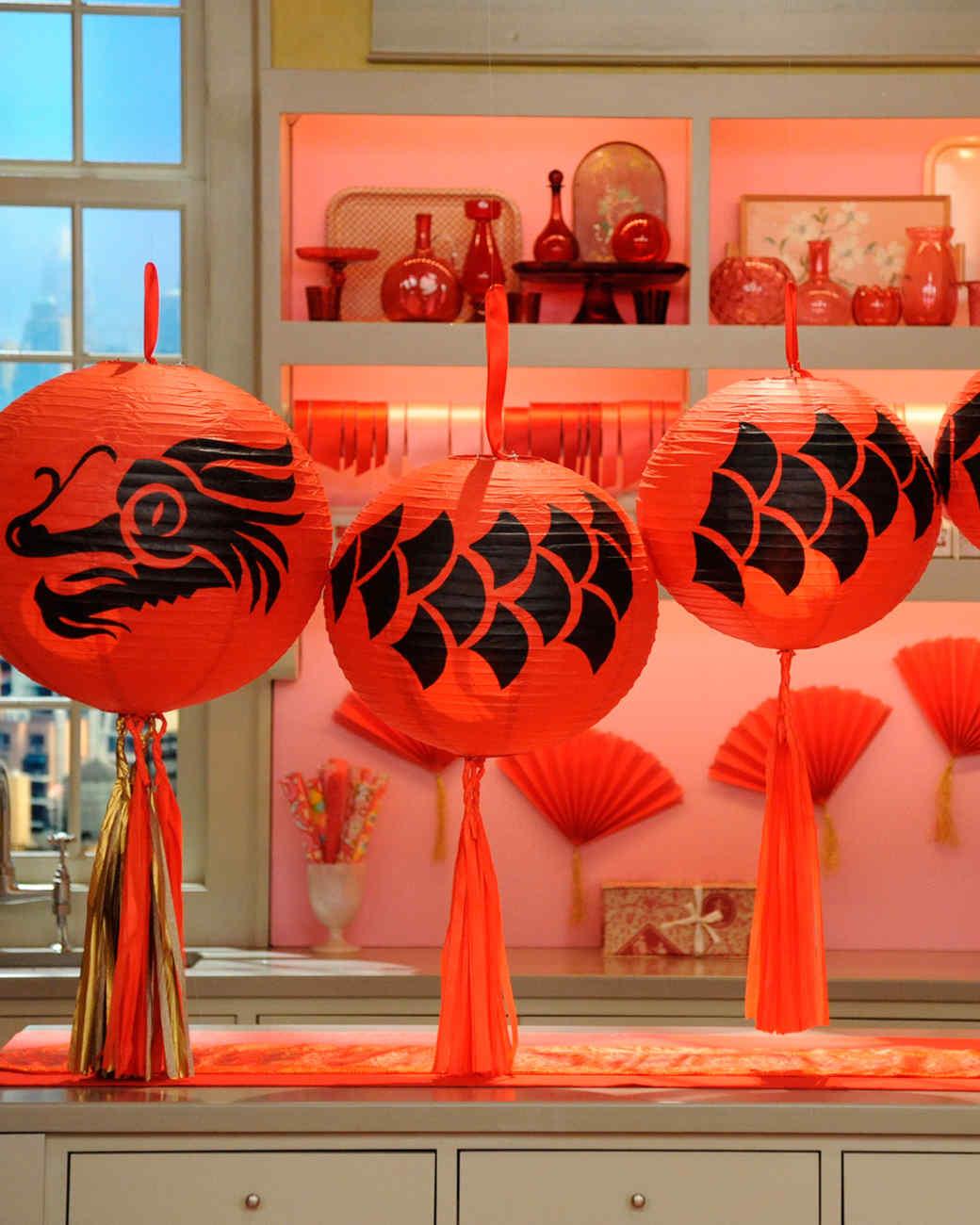 Chinese Dragon Lantern Martha Stewart