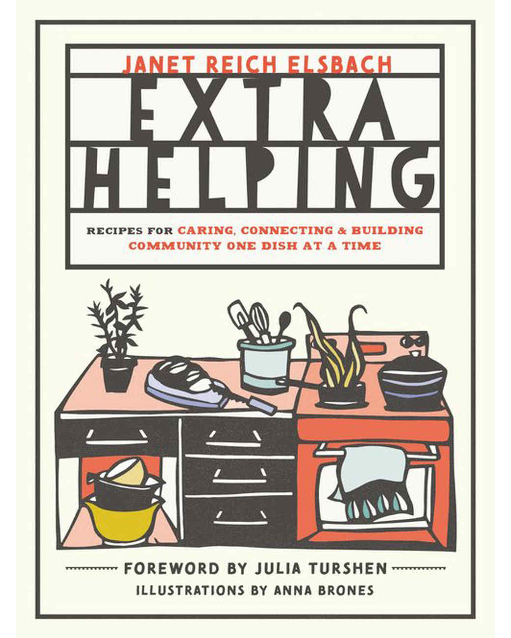 Extra Helping Recipe Book cover