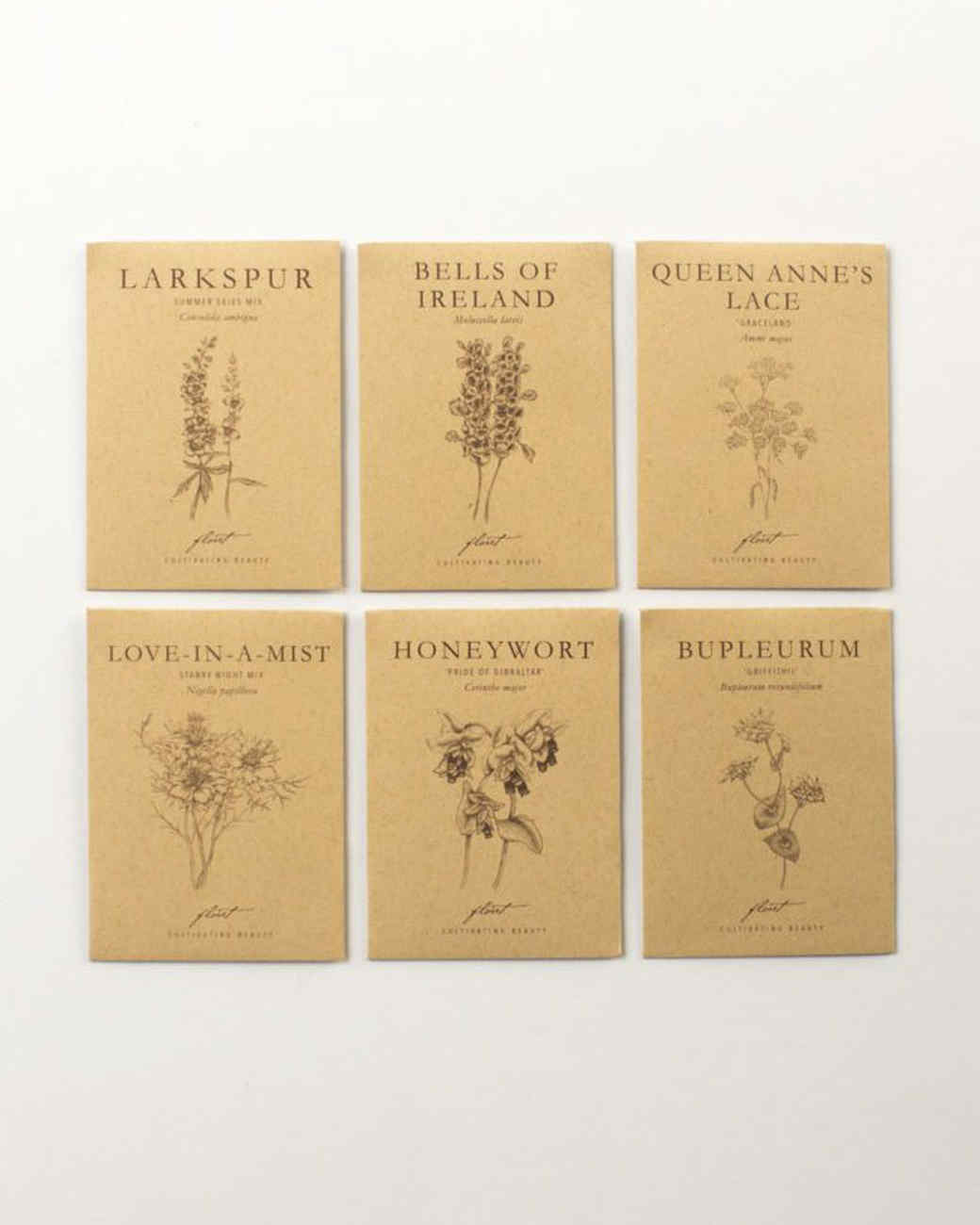 floret seed packets