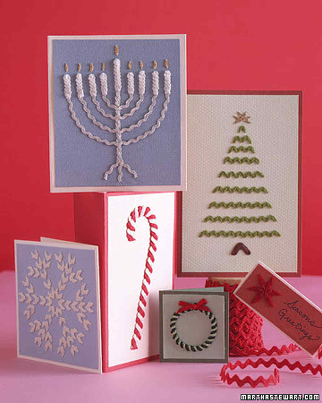 card making ideas martha stewart