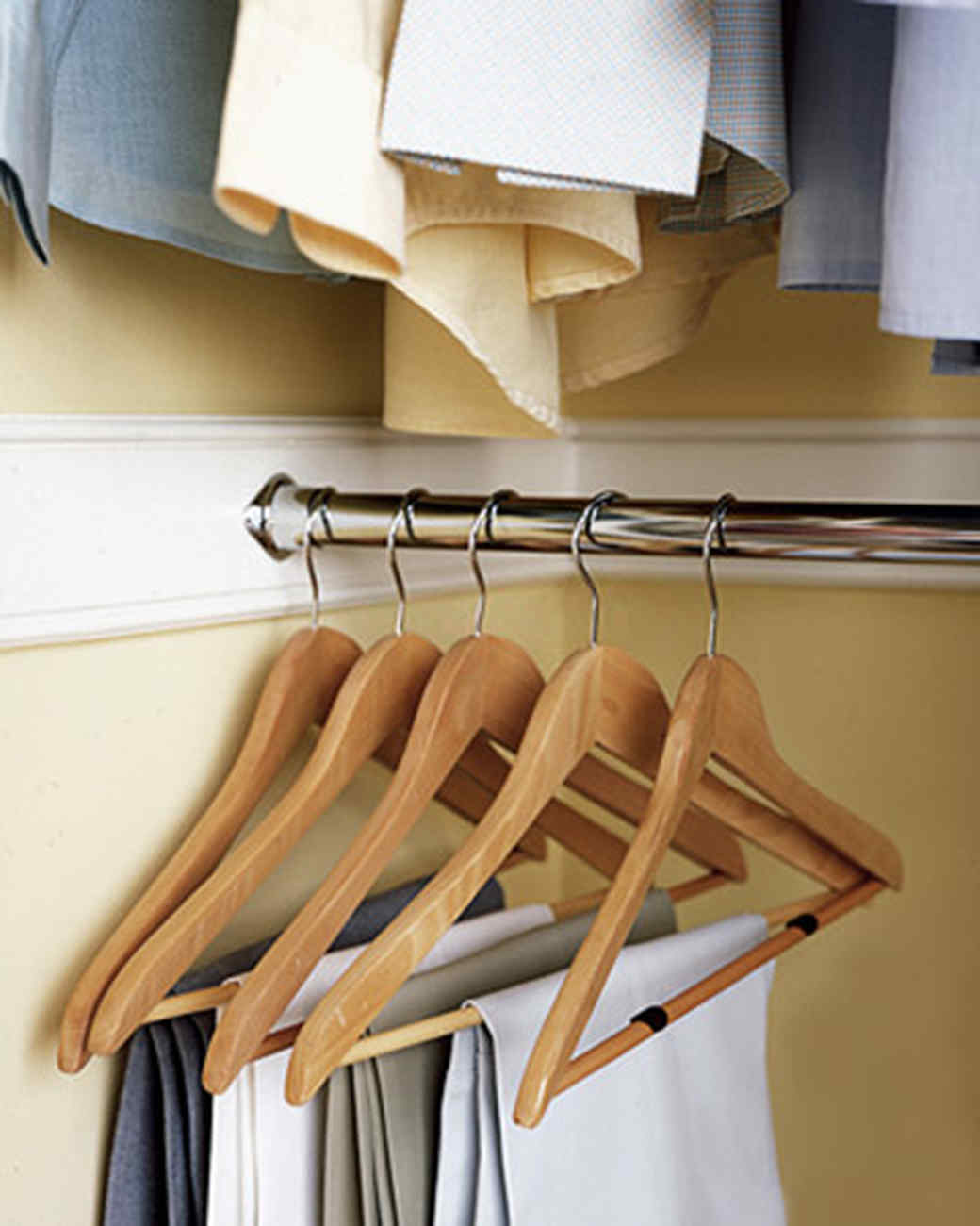 Ordinaire Hack Your Hangers: 10 Ways To Total Closet Organization Domination | Martha  Stewart