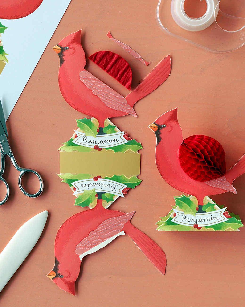 Holiday Place Cards | Martha Stewart