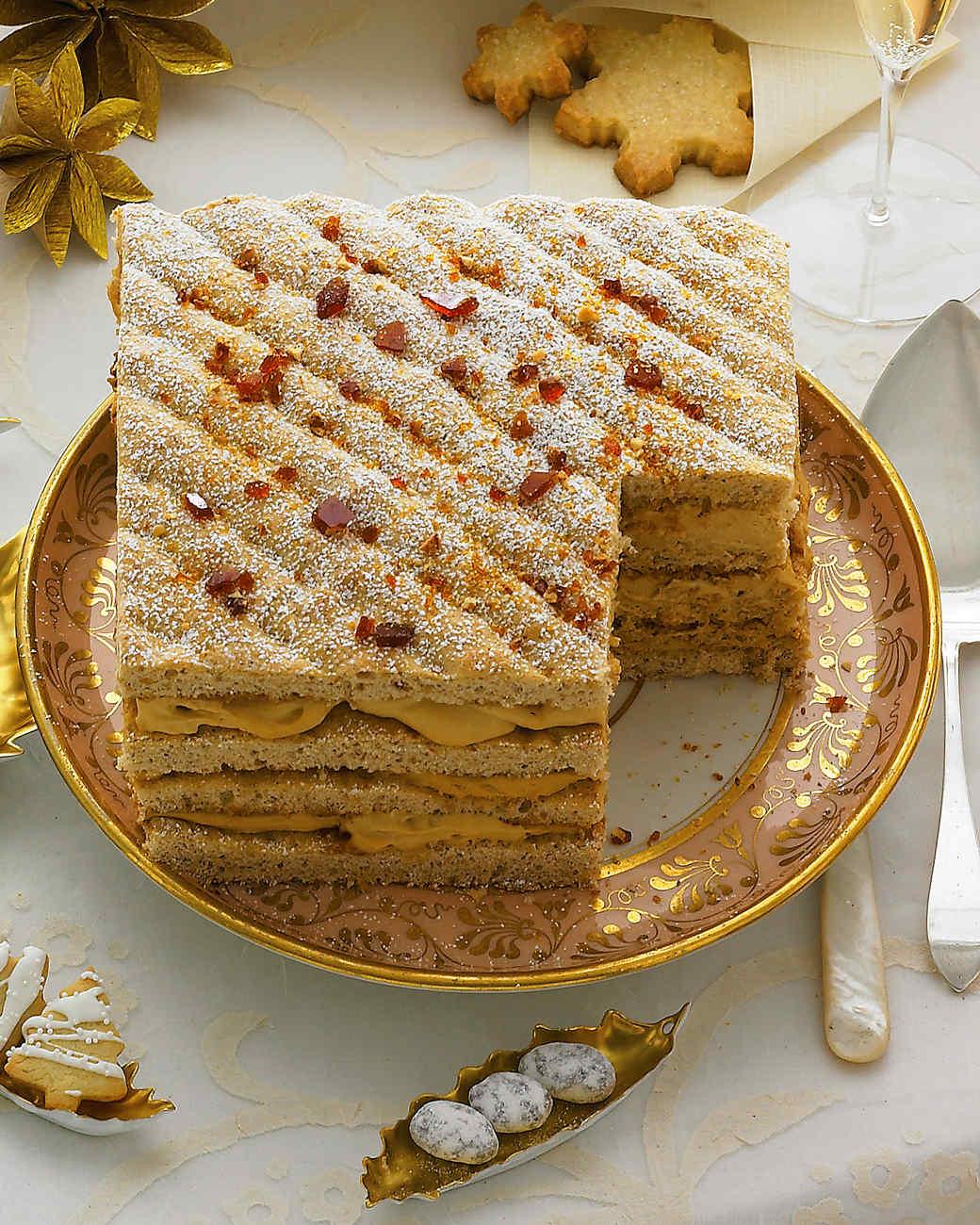 Hazelnut-Praline Torte