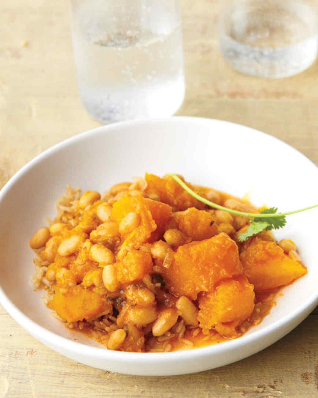 Pumpkin with White Beans