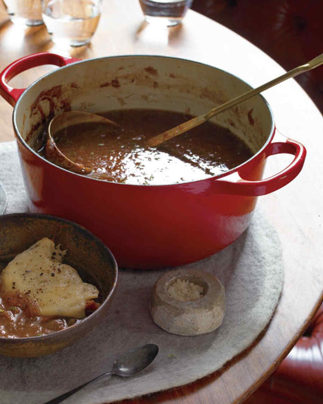 Rich Onion Soup