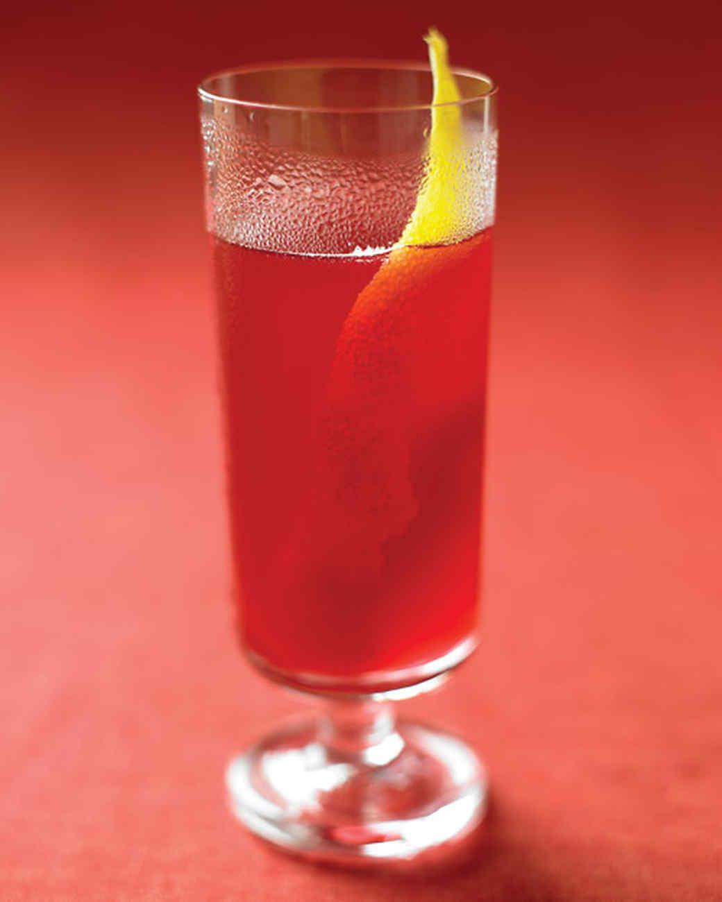 Black-Currant Cider Sparklers