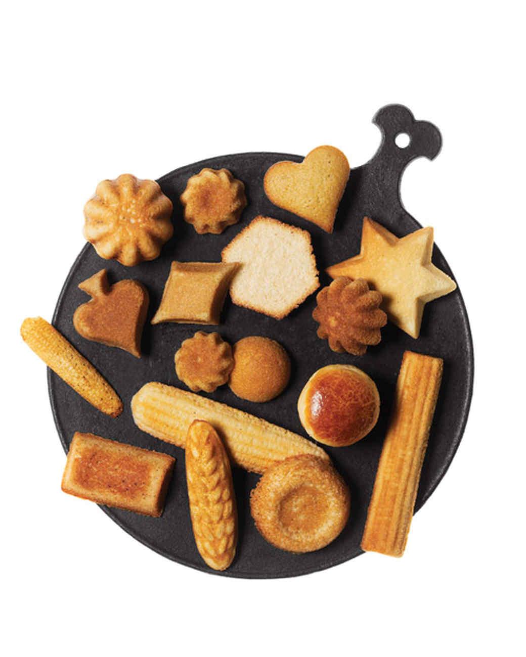 Cornmeal-Honey Madeleines
