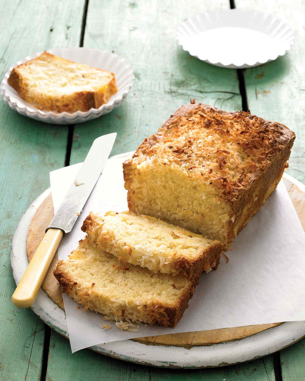 Coconut-Pineapple Loaf Cake Recipe   Martha Stewart