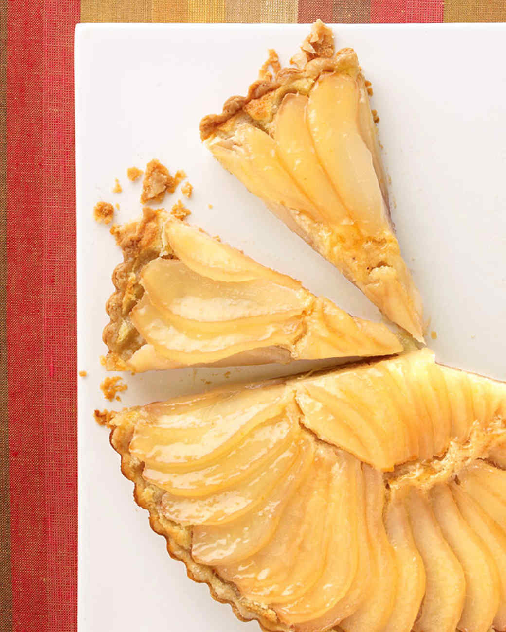 John's Pear and Almond-Cream Tart