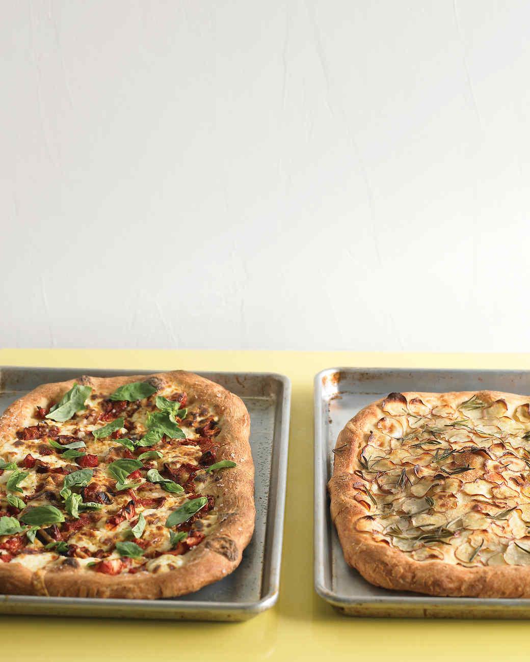 Vegetarian Pizza Recipes | Martha Stewart